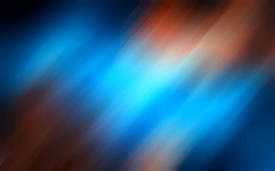 Картинка: Синий, коричневый, фон, размытость