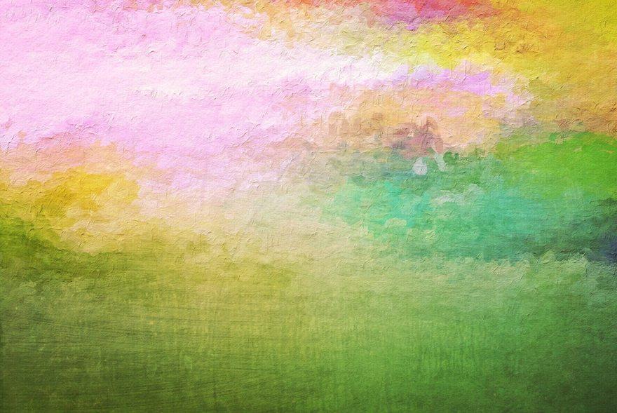 Картинка: Краска, разноцветная, стена, цвет, рельеф