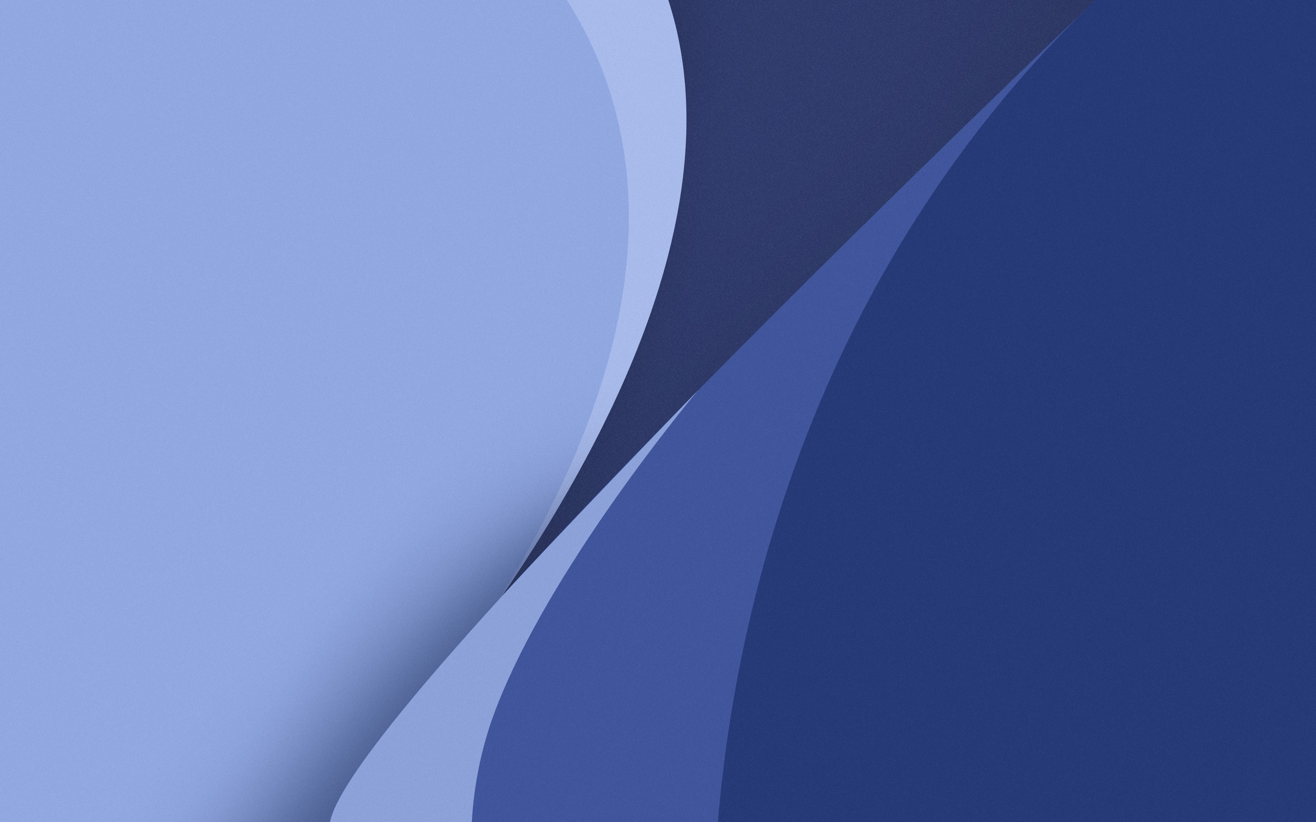 Картинка: Изгибы, линии, углы, цвет, голубой, синий, оттенок