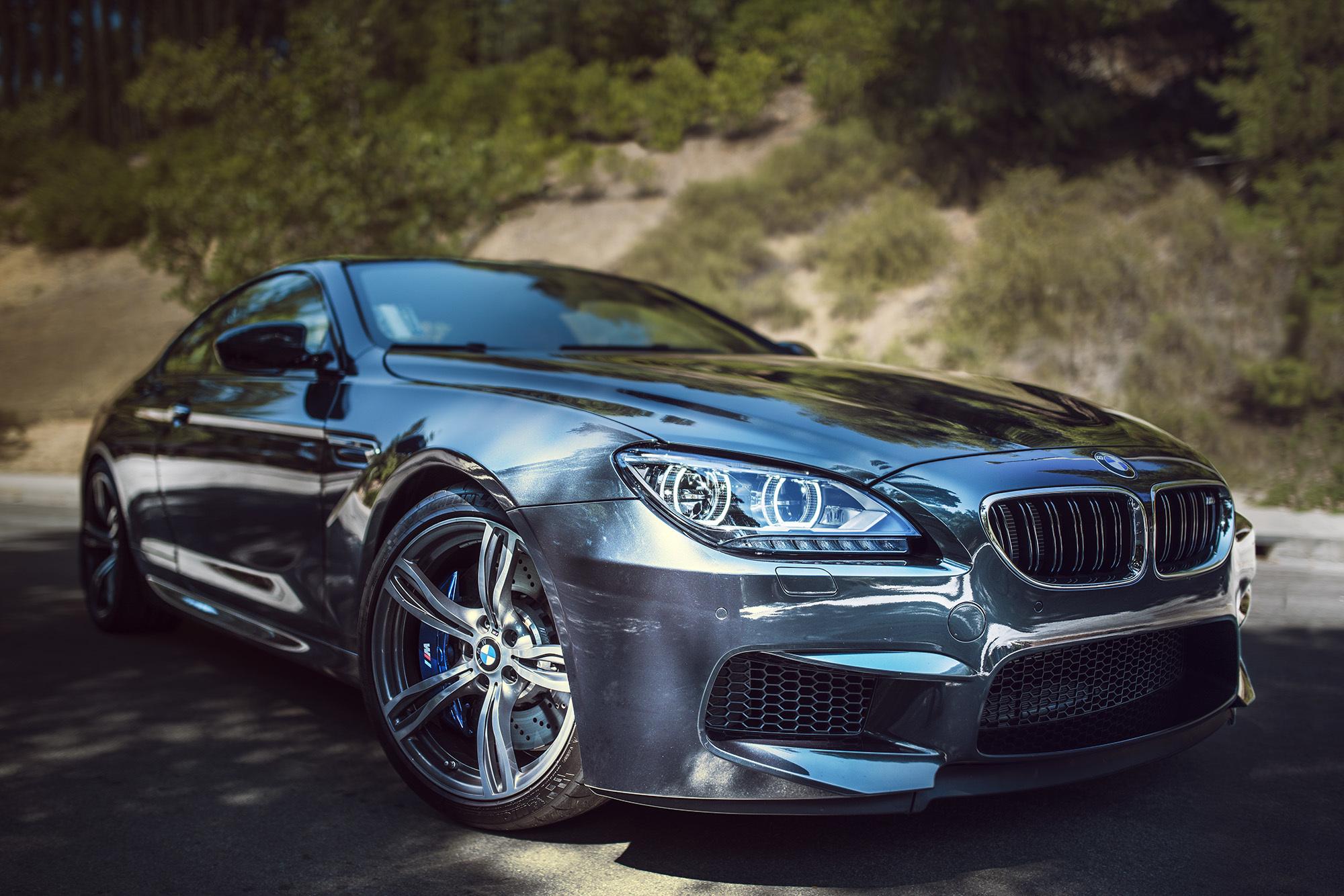 Картинка: BMW, m6, фара, бампер, диски