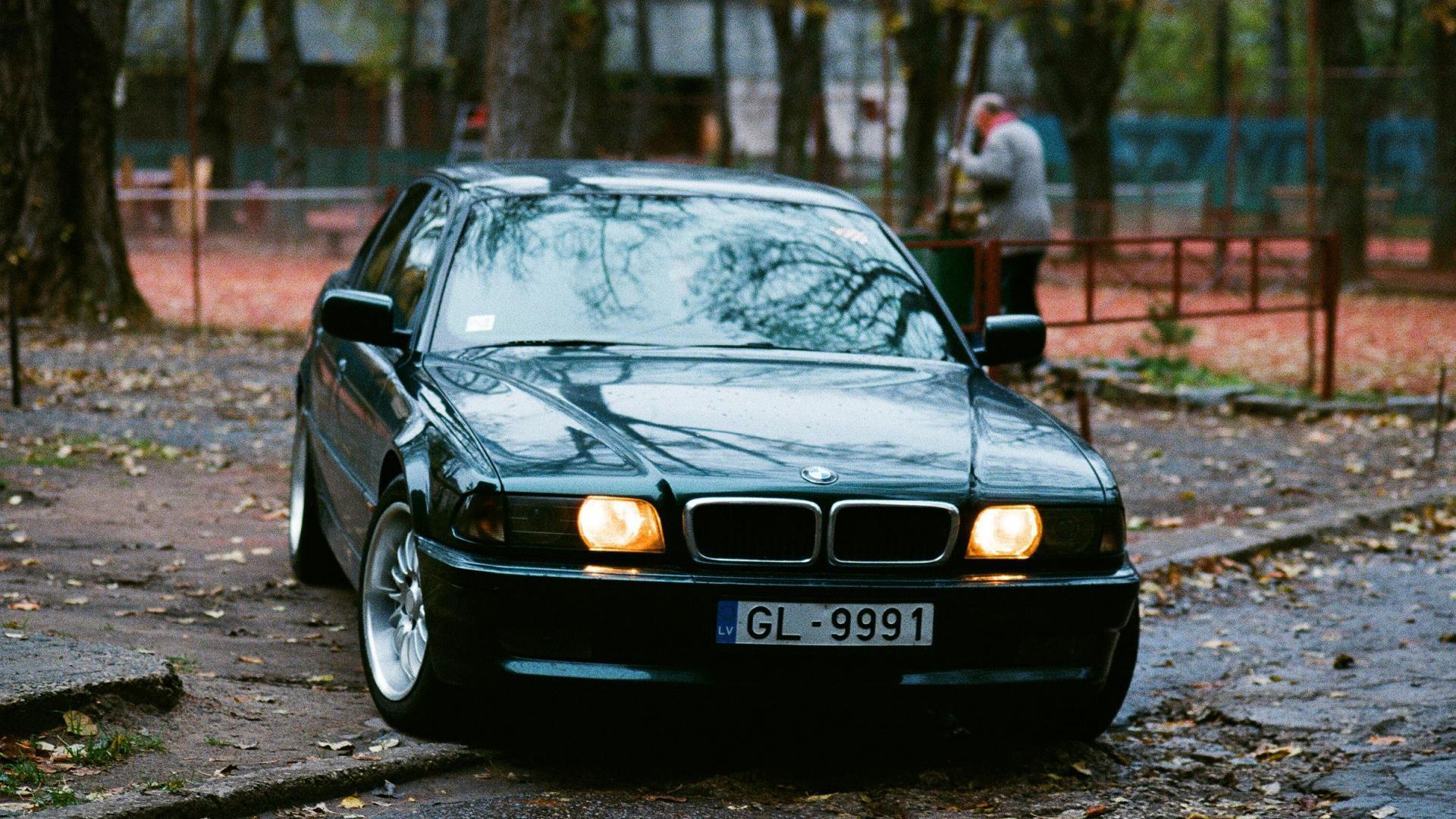 Картинка: bmw, автомобиль, бумер