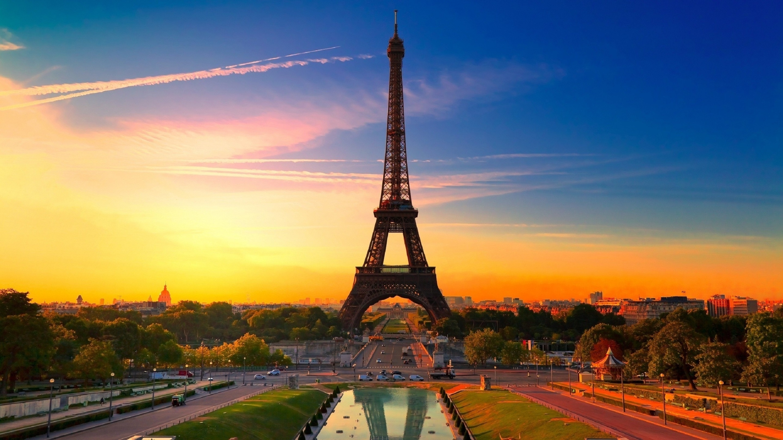 Картинка: Париж, Романтика, Любовь