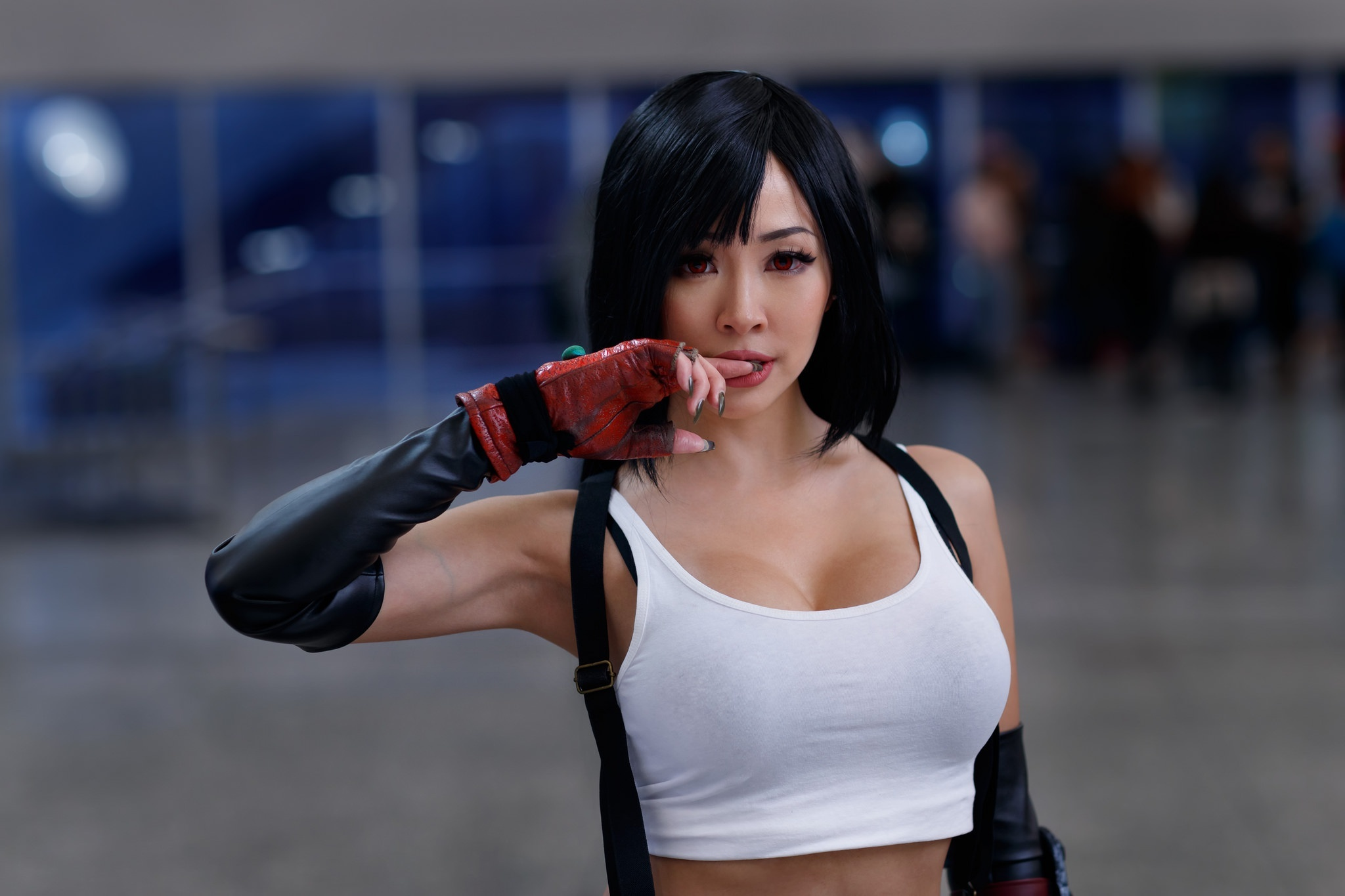 Image: Girl, asian, suit, cosplay, Tifa Lockhart, Final Fantasy VII