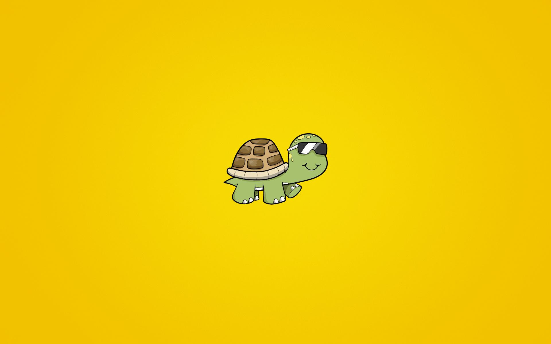 Image: Bug, glasses, yellow, background, smiling