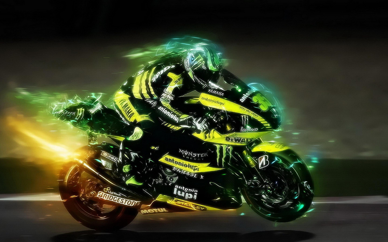 Image: Motorcycle, bike, wheels, helmet, speed
