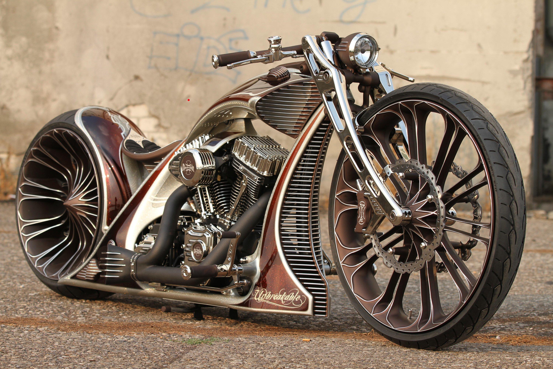 Картинка: Мотоцикл, thunderbike, кастом-байк, тюнинг, Harley Davidson