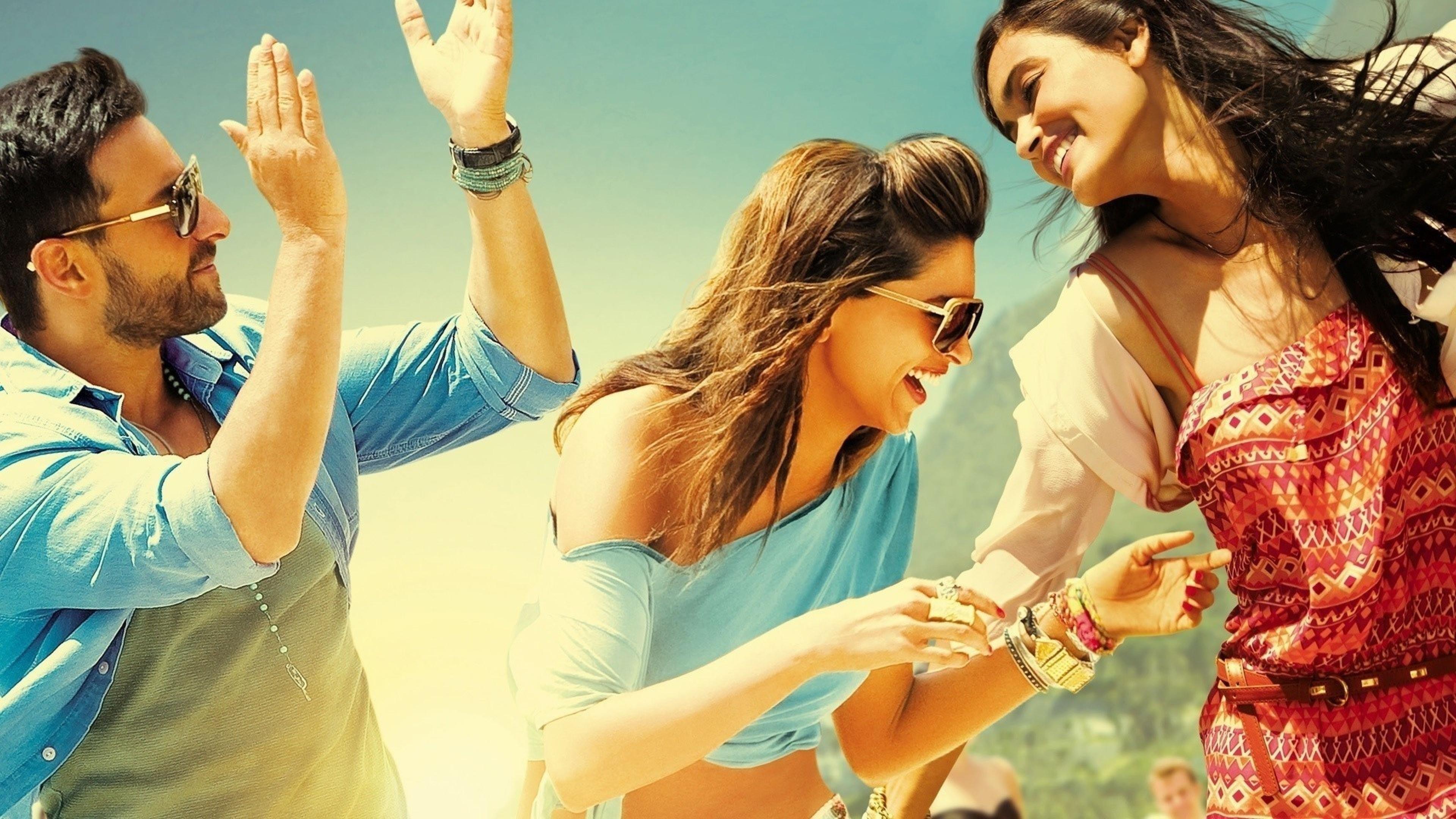 Картинка: Компания, мужчина, девушки, очки, веселье, смех, настроение