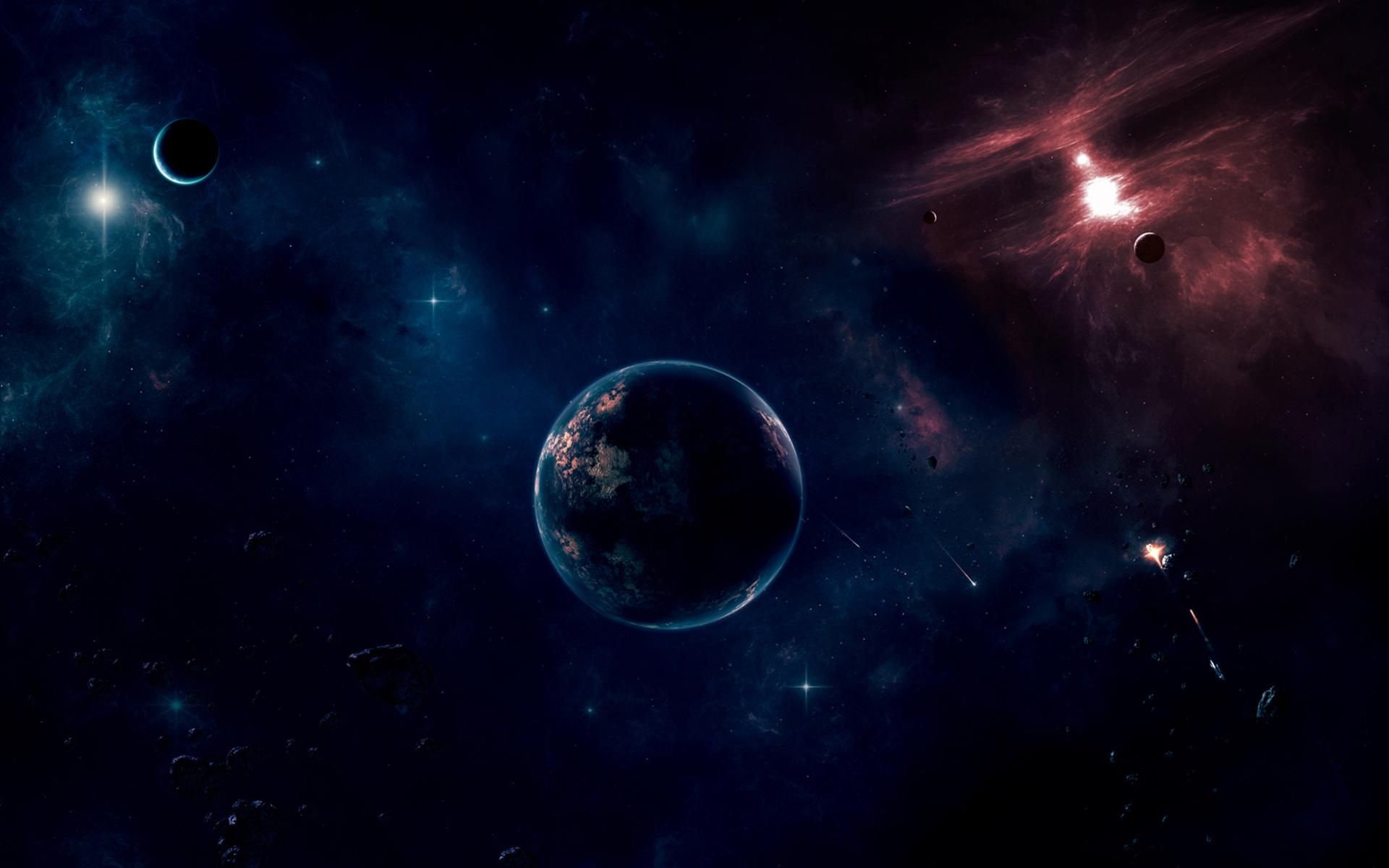 Картинка: Планеты, космос, звёзды, объекты