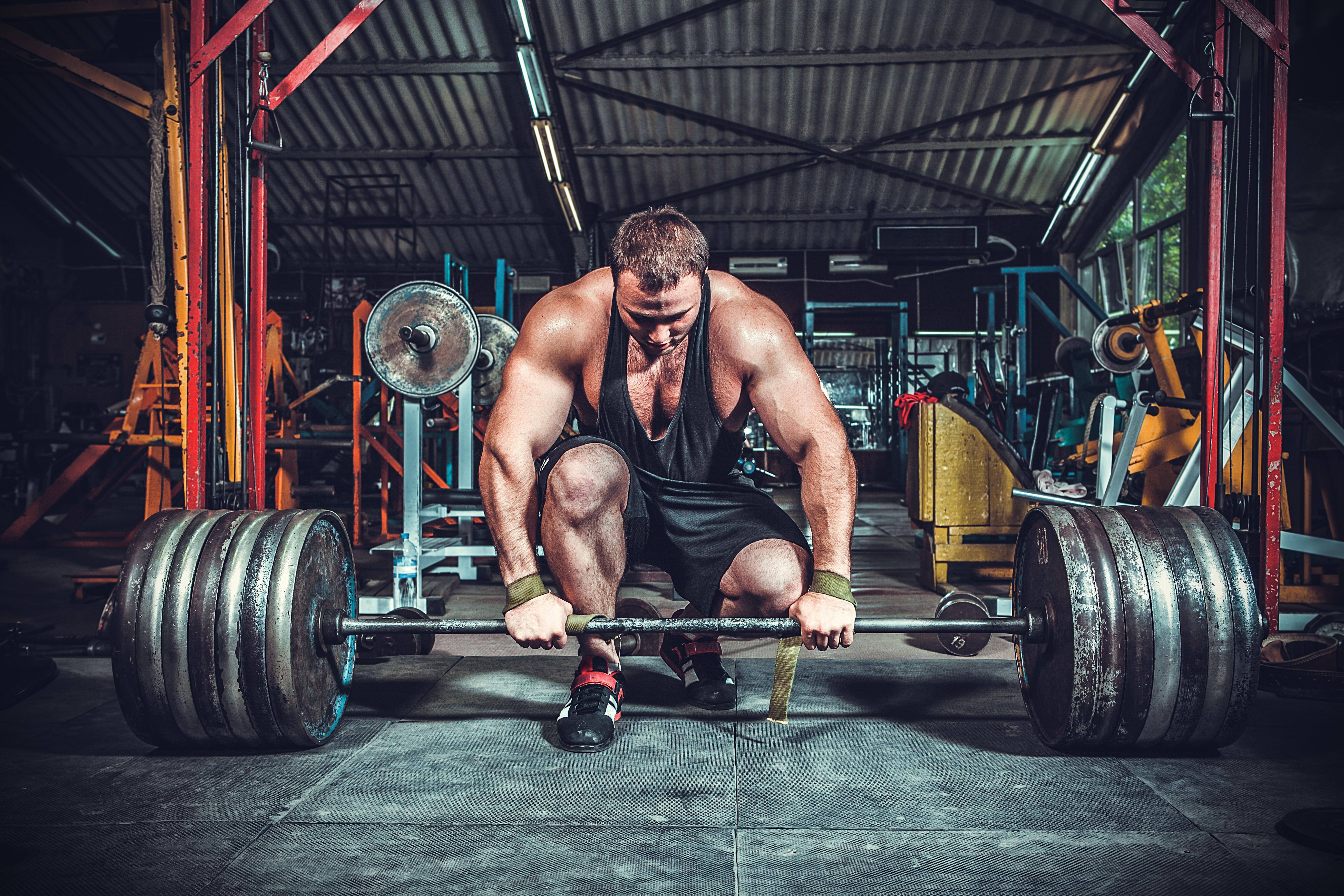 Картинка: Штанга, штангист, тяжесть, мужчина, сила, снаряд, тяжелая атлетика, спортзал, тренажеры