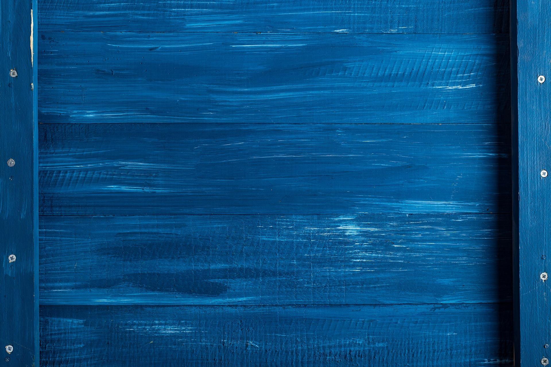 Картинка: Дерево, древесина, голубой, цвет, краска, тон