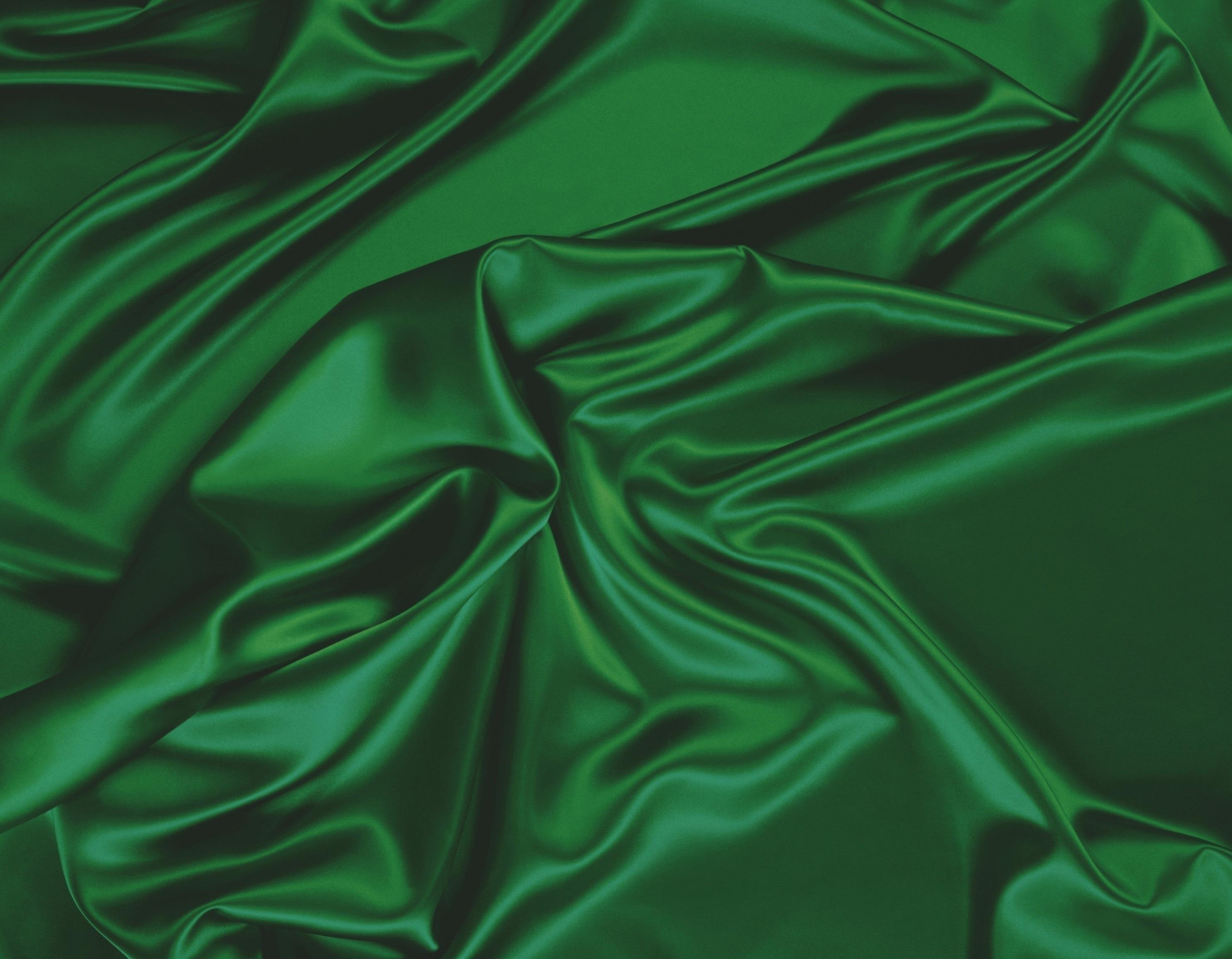 Картинка: мятая ткань, зеленый, текстура