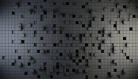 Картинка: Кубики, квадраты, стена