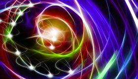 Картинка: Линии, цвет, колор, спирали, colorfull