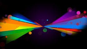 Картинка: Колор, Colorfull, цвет, яркие, разноцветные, круги, фигуры