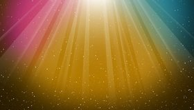 Картинка: Космос, свет, лучи, звёзды, цвет