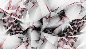 Картинка: Узор, линии, изгибы, цвет, пестрота