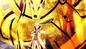 Картинка: Наруто, Узумаки, персонаж, девятихвостый, чакра, седьмой, хокаге, Naruto