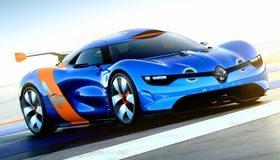 Картинка: Renault, Alpine, A110-50, Concept, голубой, спорткар