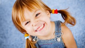 Картинка: Девочка, улыбка, глаза, настроение