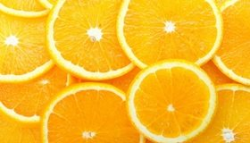 Картинка: Апельсин, кружочки, оранжевый