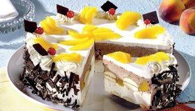 Картинка: Торт, сладкий, шоколадная крошка, шоколад, ягоды, фрукты, бисквит, крем