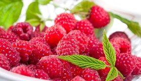 Картинка: Малина, ягода, лето, витамины