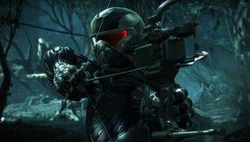 Картинка: Crysis 3, костюм, лук, стрелы, прицел