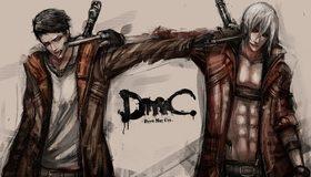 Картинка: DmC, Devil may Cry, Dante, пистолеты, плащ