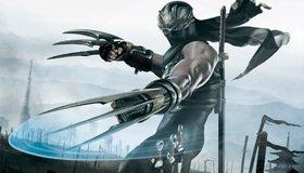 Картинка: Ninja Gaiden 2, ниндзя, взмах, оружие, поле боя, мечи, клинки, маска