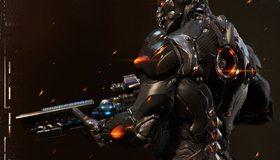 Картинка: StarCraft: Ghost, шутер, Terran Ghost, воин, винтовка, костюм, доспехи, Нова