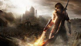 Картинка: Prince of Persia, The Forgotten Sands, нежить, песок, город, принц, меч, магия