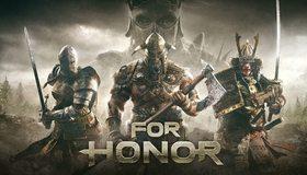 Картинка: For Honor, За честь, Ubisoft, рыцарь, викинг, самурай, оружие, боевые, топоры, мечи, тучи