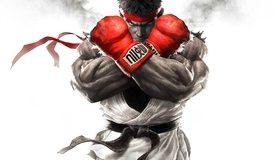 Картинка: Street Fighter V, Ryu, боец, красная повязка, чёрный пояс, взгляд