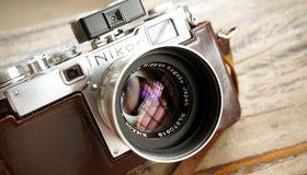 Картинка: Фотоаппарат, объектив, линза, Nikon
