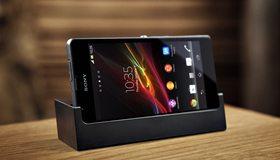 Картинка: Sony, Xperia, ZR, телефон, сенсор, смартфон, подставка