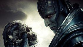 Картинка: Люди Икс, X Men, Apocalypse, En Sabah Nur, мутант, суперзлодей, череп., взгляд, разрушение