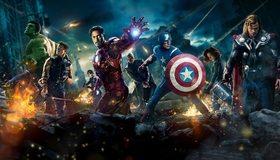 Картинка: Спергерои, Мстители, Avengers, Железный человек, Тор, Халк, Сокол, агенты щит, война, разрушения, битва