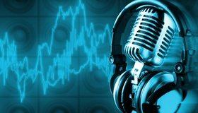 Картинка: Микрофон, наушники, ритм, акустика