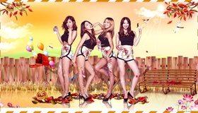 Картинка: Sistar, Корея, музыка, поп, группа, девушки