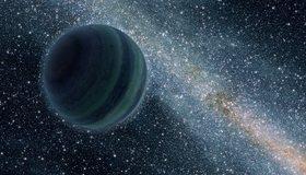 Картинка: Планета 9, космос, млечный путь, звёзды