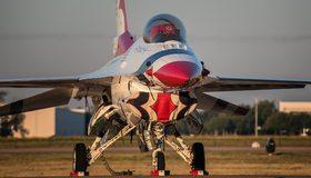 Картинка: Авиация, самолёт, истребитель, шасси