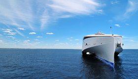 Картинка: Корабль, судно, море, небо
