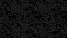 Картинка: Животные, звери, тёмный фон, изображения
