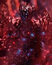 Картинка: Красное, кровь, боcс, Уризен, Urizen, обличие, демон, игра, Devil May Cry 5