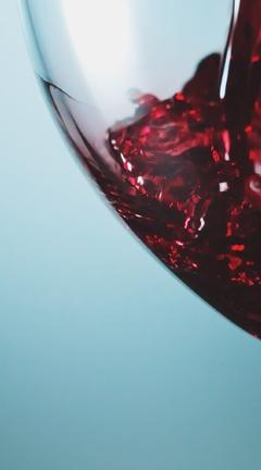 Картинка: Бокал, красное, вино, стекло